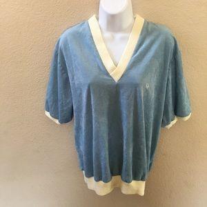 Christian Dior Vintage Women's V Neck Sweater